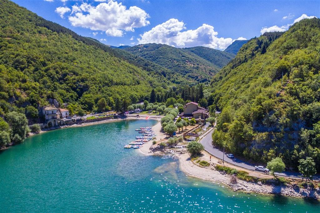 Jazero  Scanno